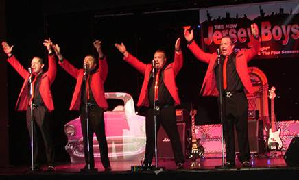The New Jersey Boys- Oh What a Night!