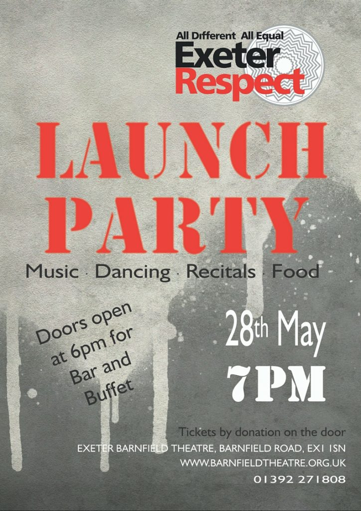 Exeter Respect Official Launch Party!