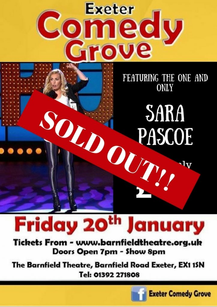 Comedy Grove with Sara Pascoe!