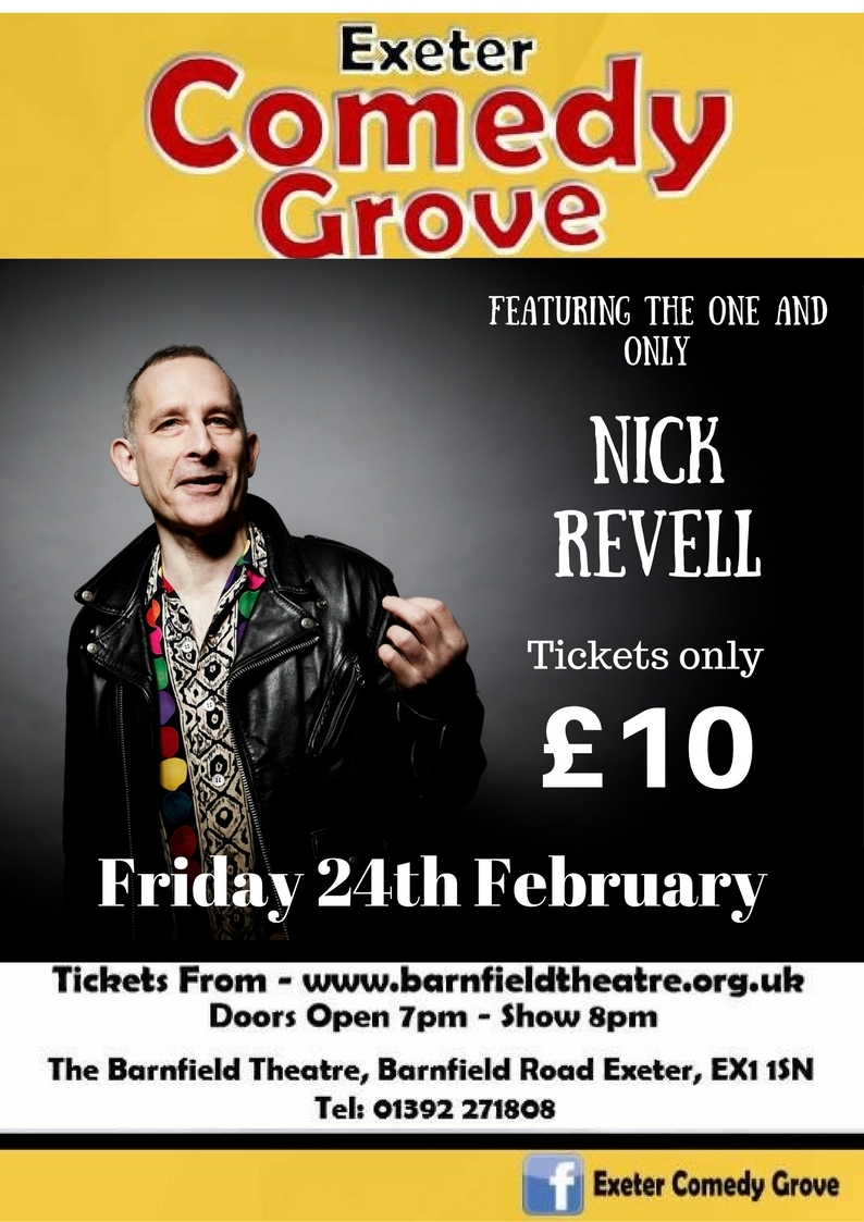 Comedy Grove with Nick Revell