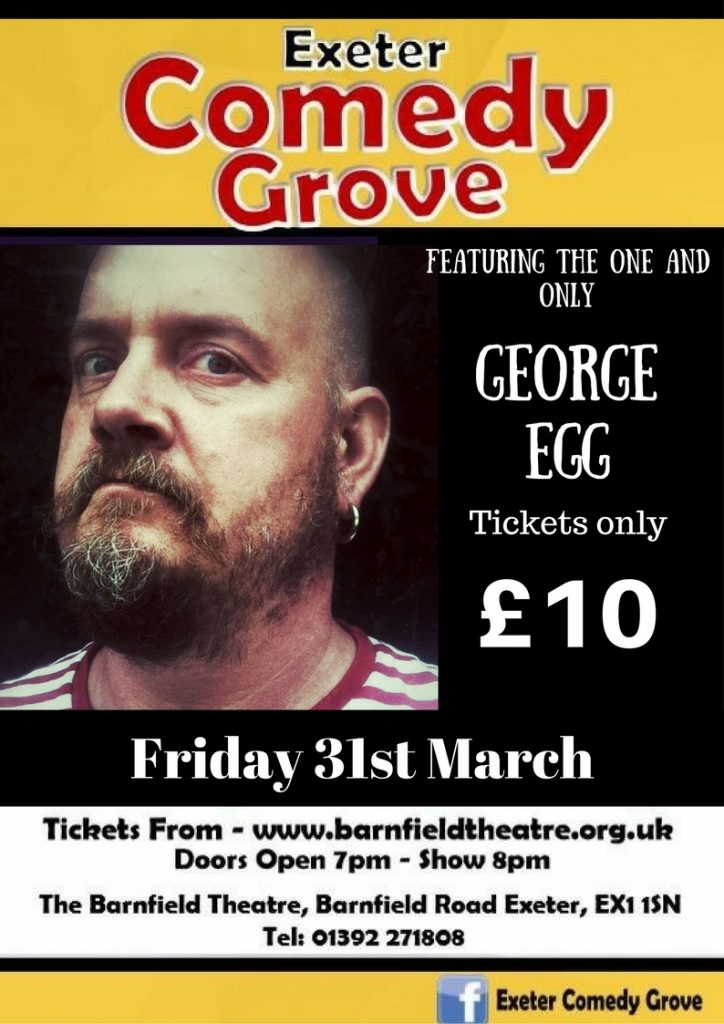 Comedy Grove with George Egg