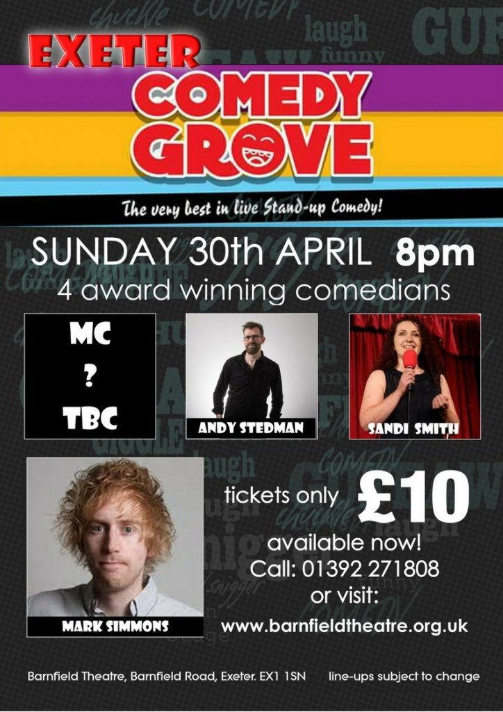 Comedy Grove with Mark Simmons