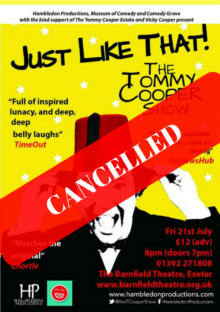 Just Like That! – CANCELLED