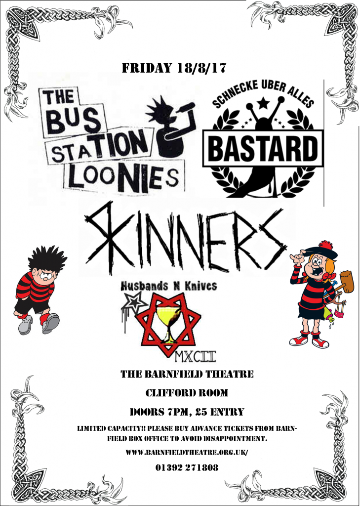 Exeter Punks Picnic Warm Up…