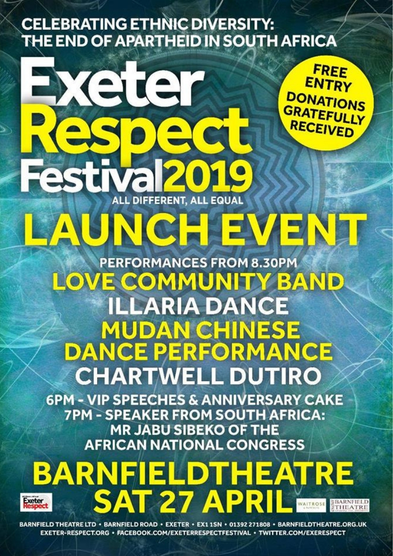 Exeter Respect Launch Party