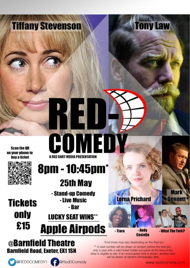 Red-D Comedy Night