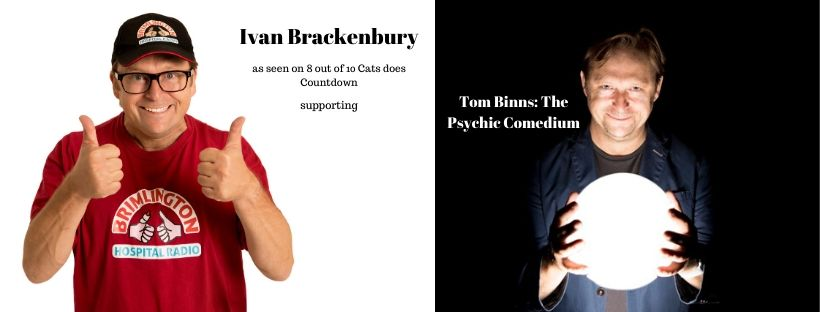Ivan Brackenbury supporting Tom Binns