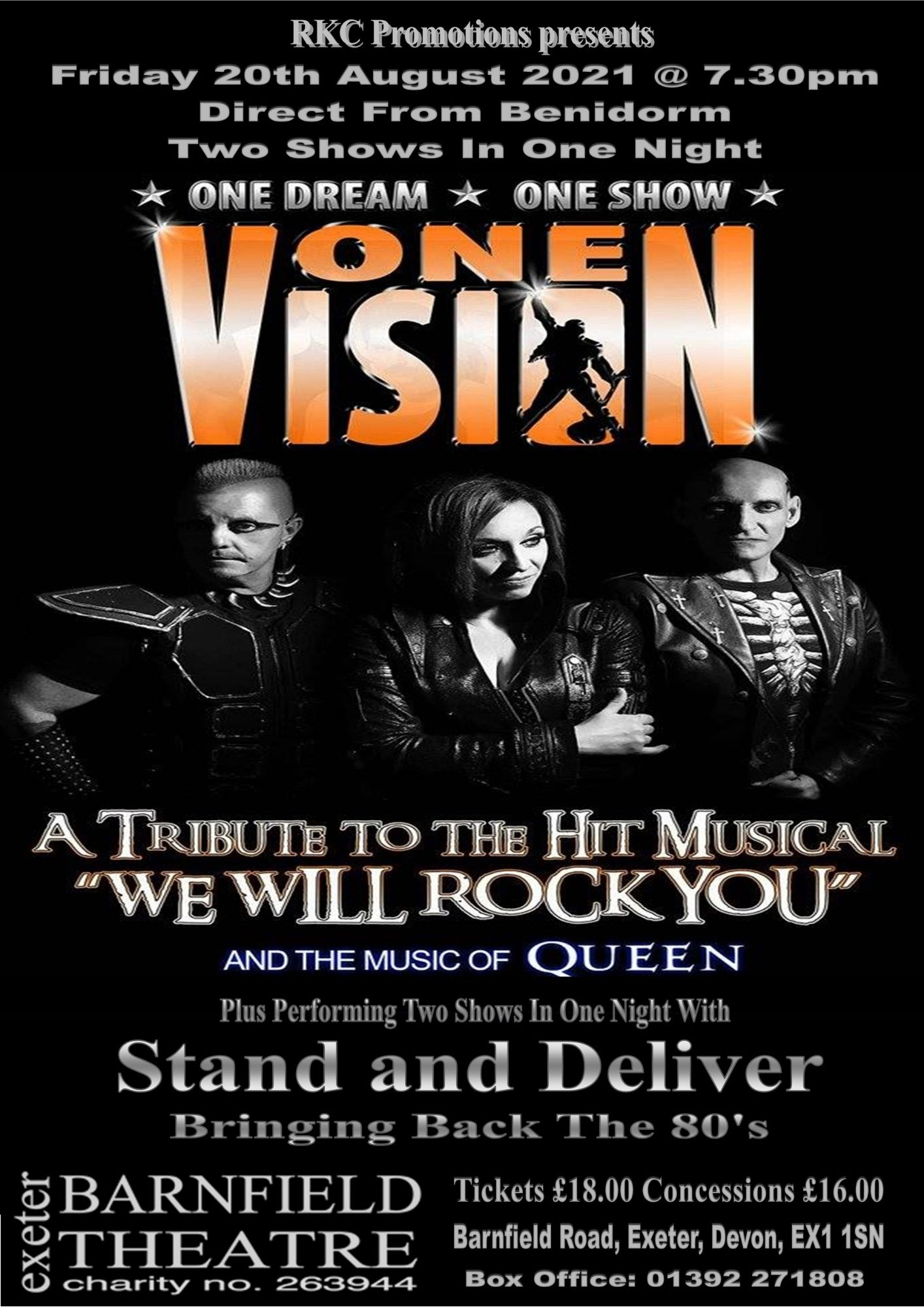 One Vision – Stand and Deliver