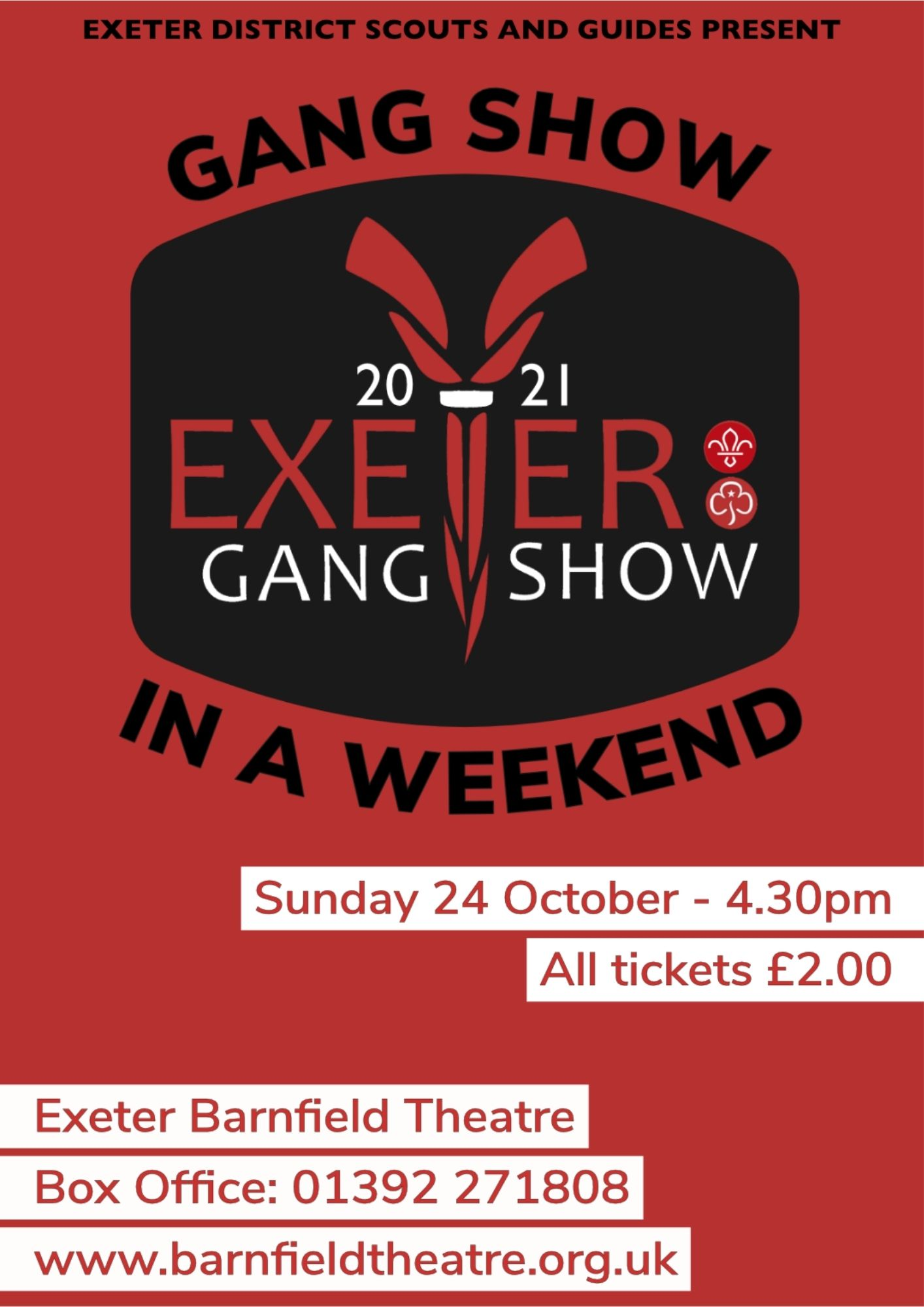 Gang Show in a Weekend